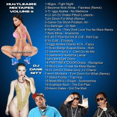 Hustleaire Mixtapes Volume 9 copy