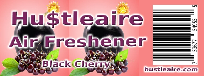 Hustleaire Air Freshener Black Cherry