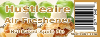 Hustleaire Air Freshener Hot Baked Apple Pie