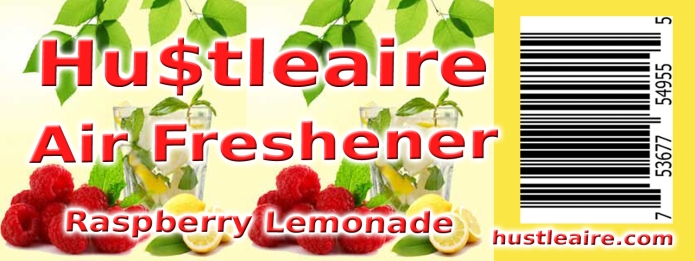 Hustleaire Air Freshener Raspberry Lemonade