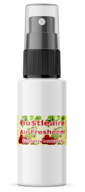 HUSTLEAIRE SPRAY BOTTLE 1 OZ RASPBERRY LEMONADE