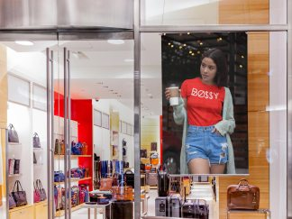 Poster-Mockup-in-the-Store-Window-of-a-Mall