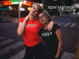 Twitter-Ad---Two-Girlfriends-Wearing-T-Shirts-on-the-Street